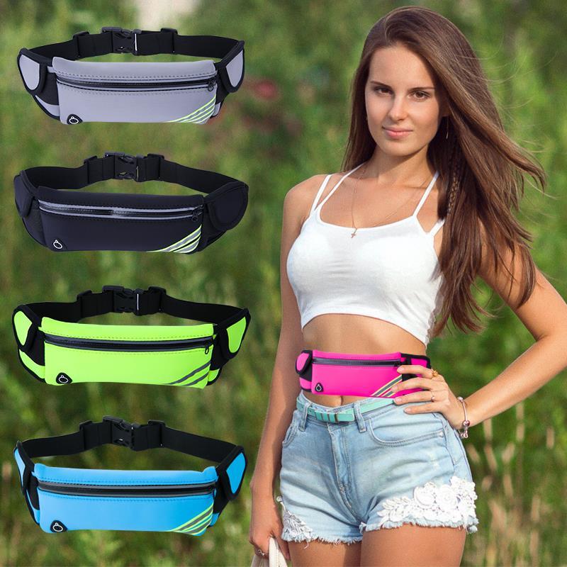 Outdoor Sports Running Neoprene Smart Phone Belt Fanny Pack waist bag with bottle holder