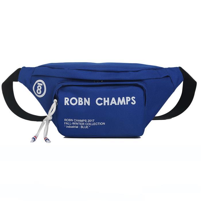 Adjustable belt custom fanny pack waist bag canvas black waist bag
