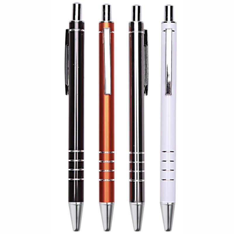 New style office products aluminium ball-point pens with custom logo