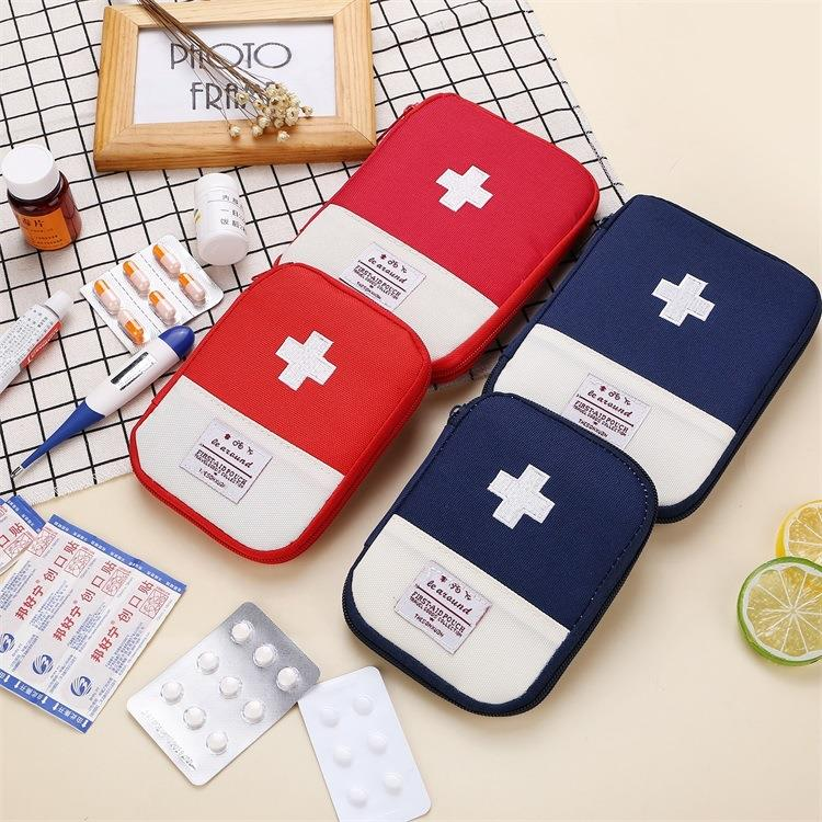 Factory Wholesale Empty Mini Medical First Aid Kit Pouch Organizer Bag