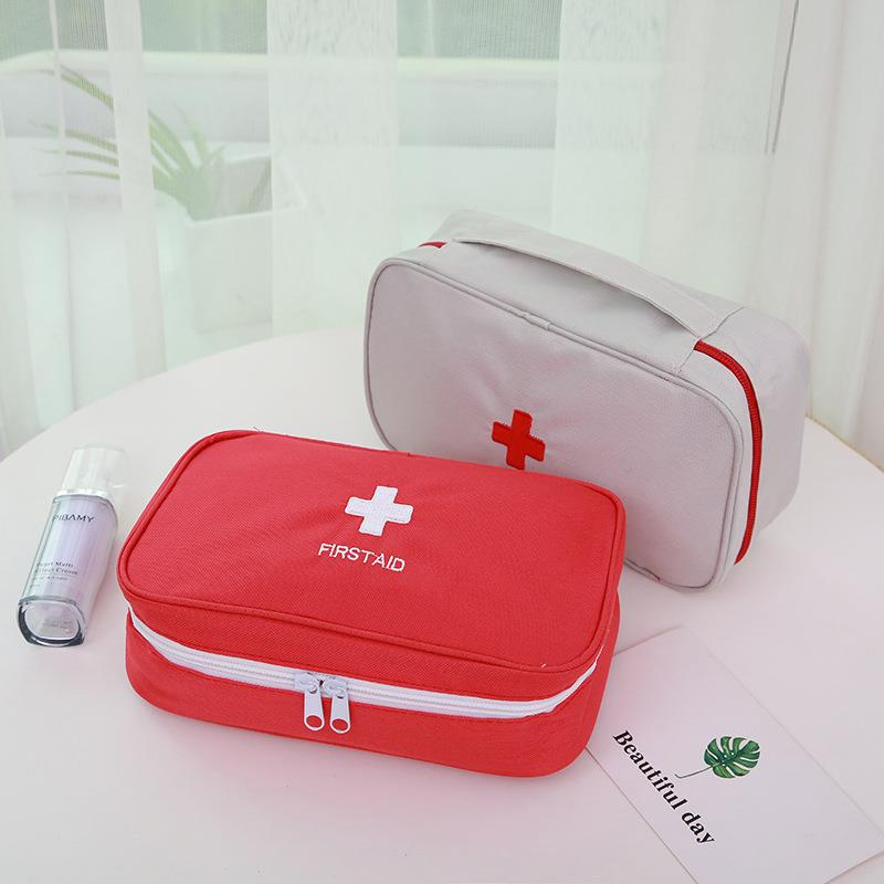 First Aid Bag Medical Bag Empty Portable Pouch for Home Outdoor