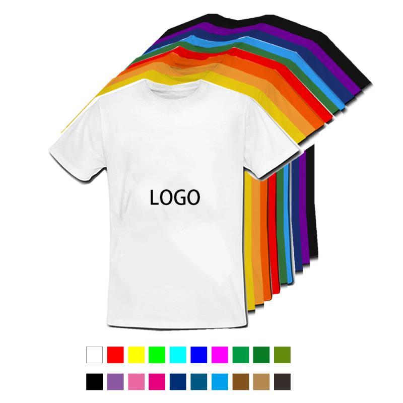 custom cheap wholesale blank promotion 100% cotton t-shirt