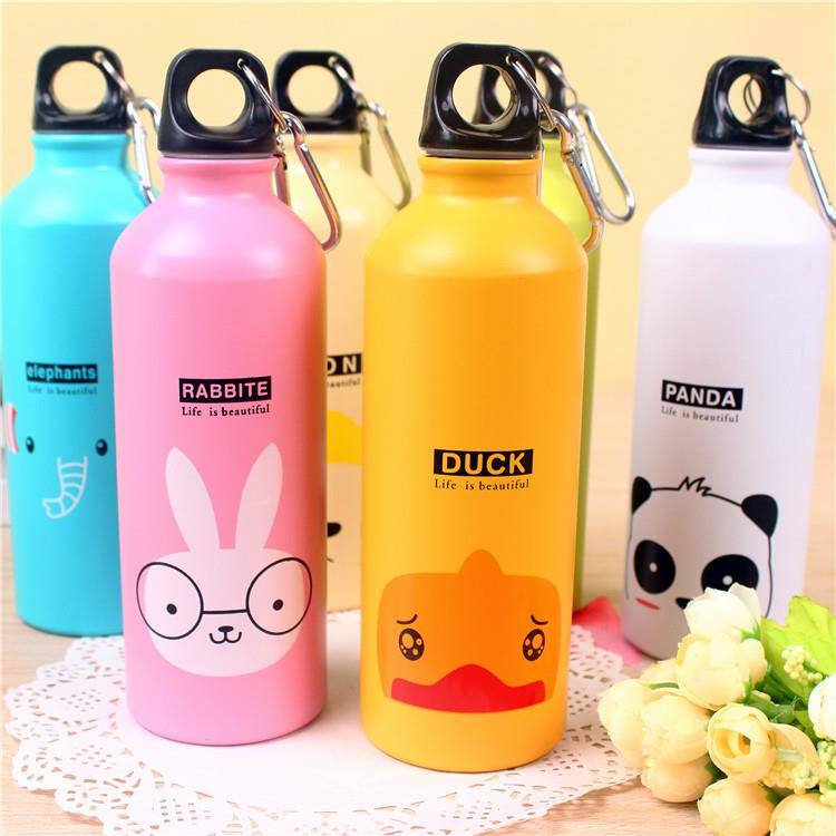 Wholesale Custom 100ml 500m 750ml 1000ml Aluminium Sports Drink Water Bottle