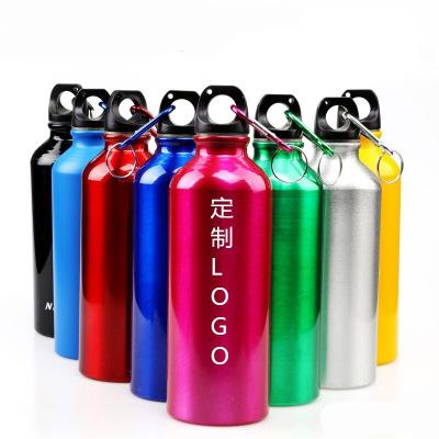 Customized outdoor sport aluminium water bottle for promotion