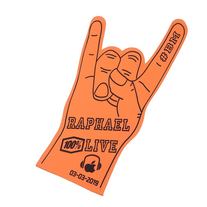 Promo Cheap Price High Quality EVA Foam Hand Palm Foam Fingers