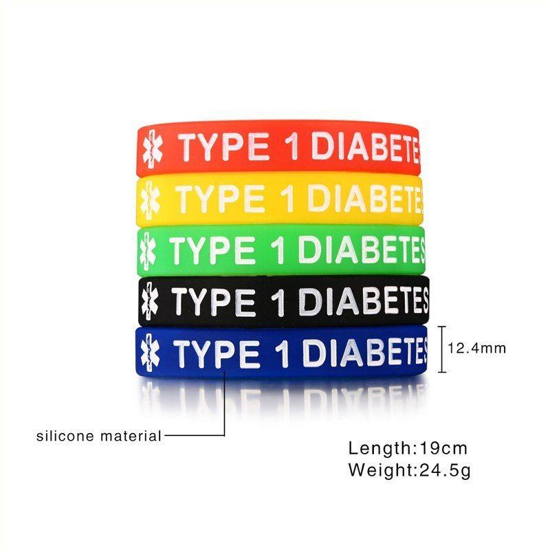 Wholesale embossed silicone health bracelet with business logo