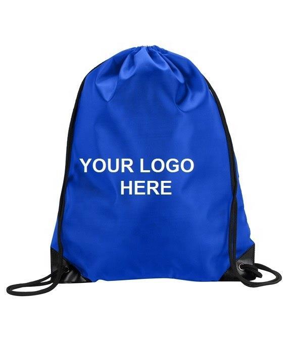 folding nylon drawstring bag backpack