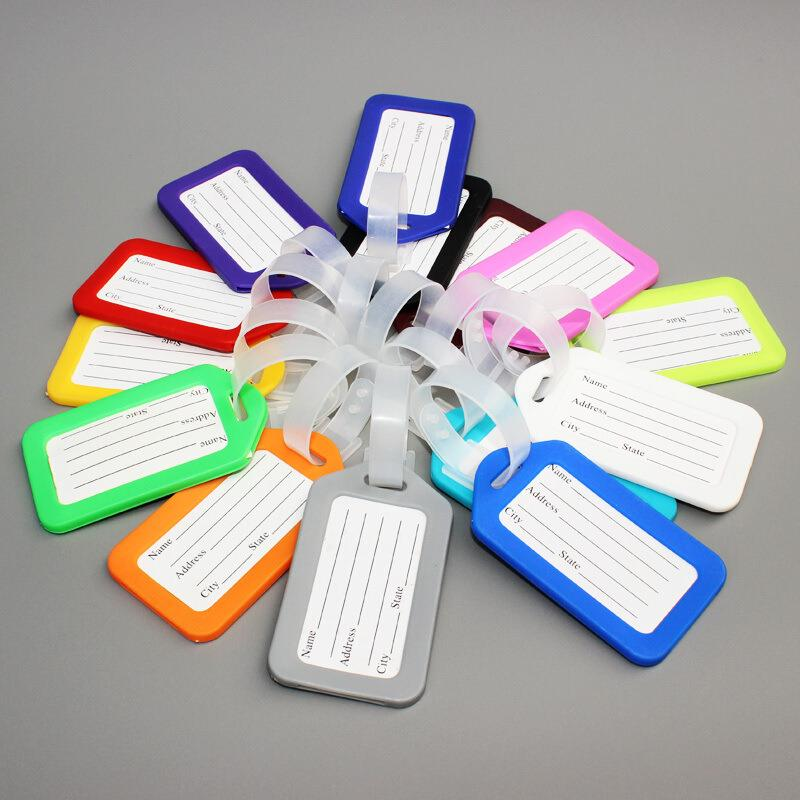 Wholesale Custom Logo Silicon Rubber Personalized Luggage Tag
