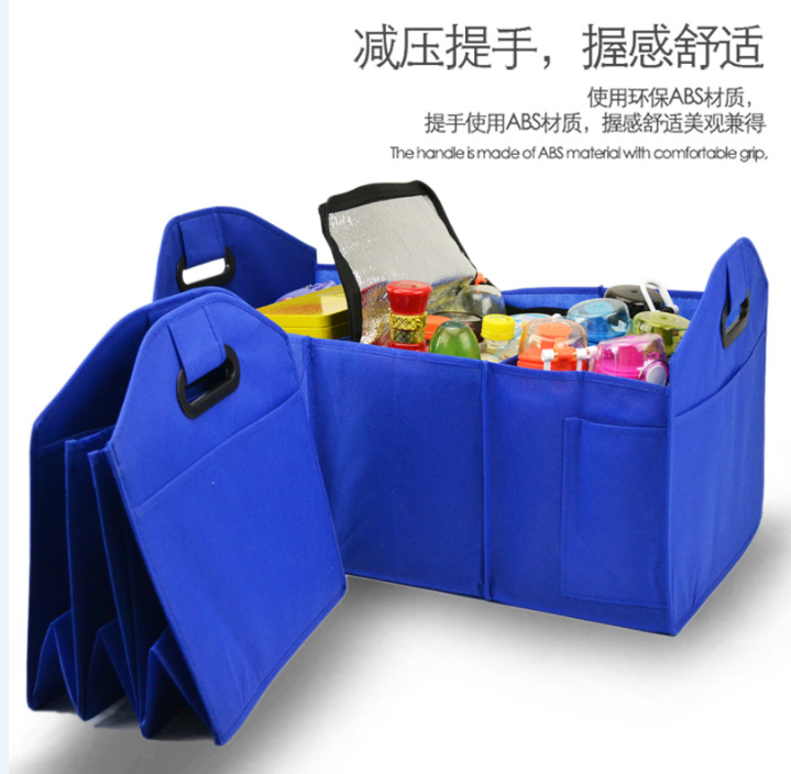 Collapsible Folding Car Trunk Organizer, Car Seat Backseat Organize