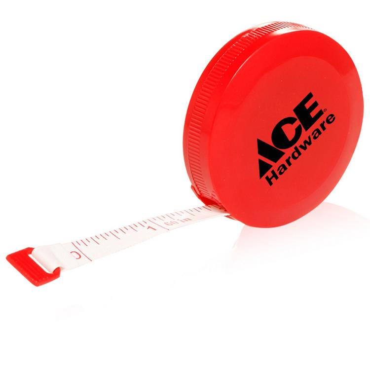 Promotional plastic line tape measuring tape with logo