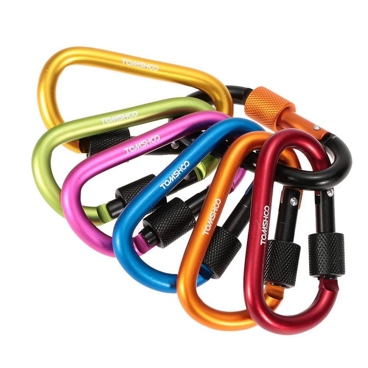 Customized Aluminum Locking Carabiner