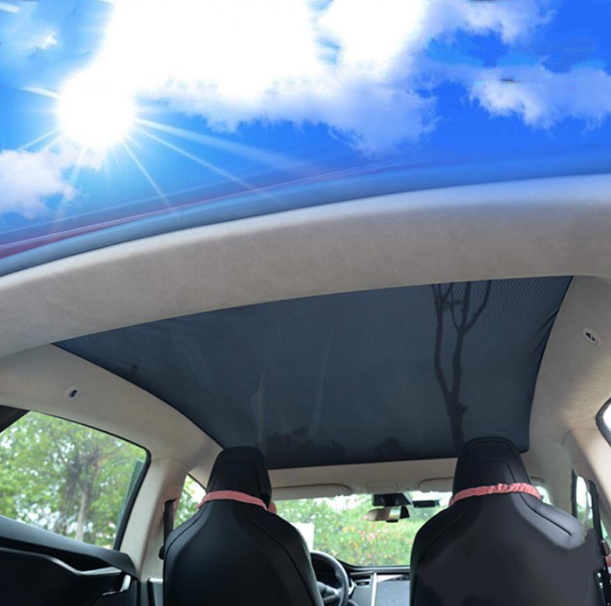 TESLA MODEL S X 3 for sunroof car curtain sunshade