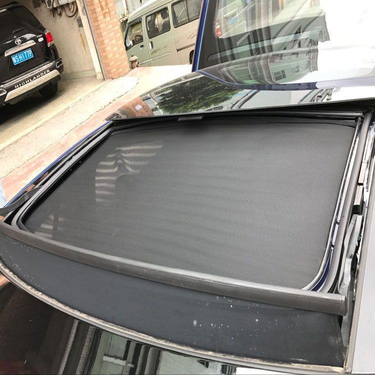 TESLA MODEL S special car curtain Tesla sunshade Skylight tail sunscreen sunshade