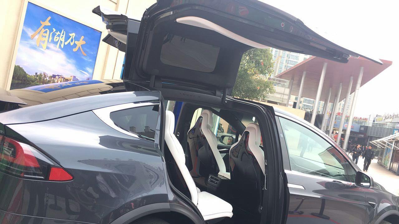 TESLA Model X SUV car curtain sunshade sunroof sunscreen insulation tail curtain