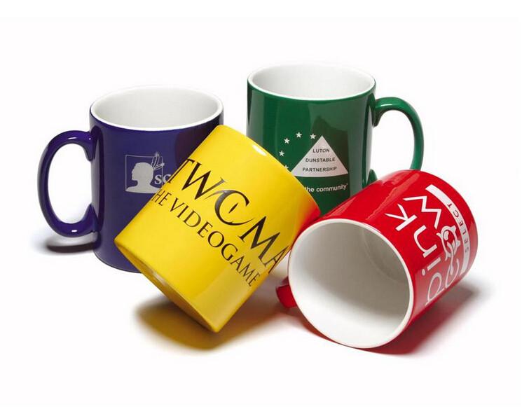 eco friendly DIY logo coffee tea ceramic cup