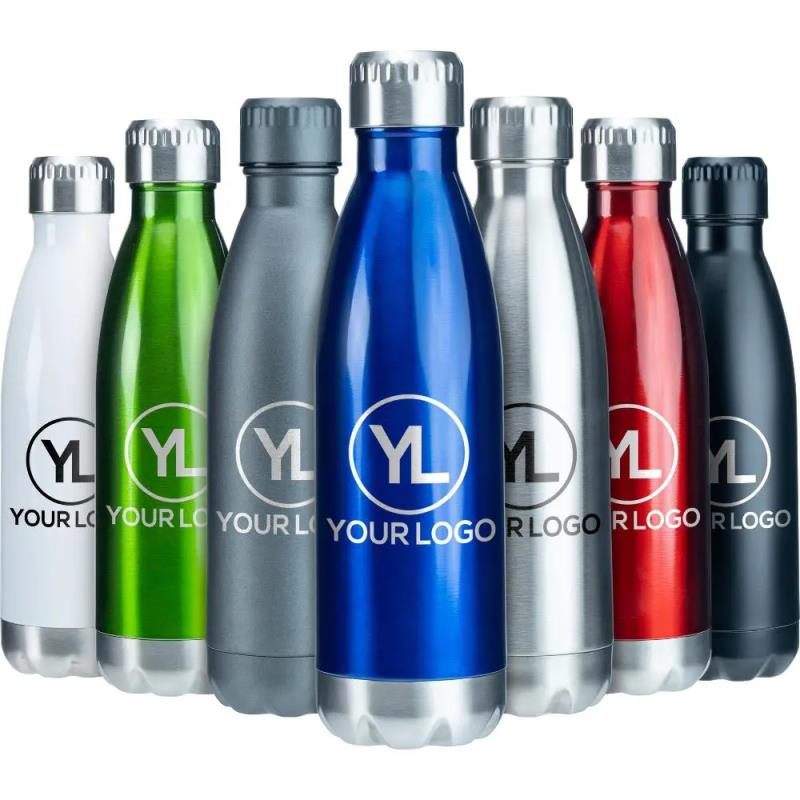 Wholesales double wall vacuum insulated stainless steel thermos flask bottle
