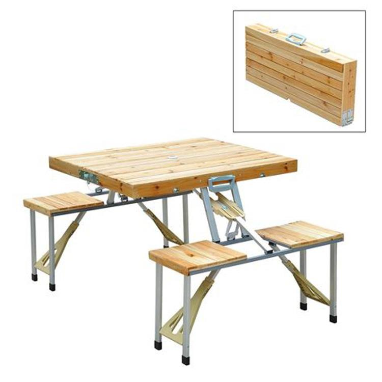 Wooden Folding Picnic Table