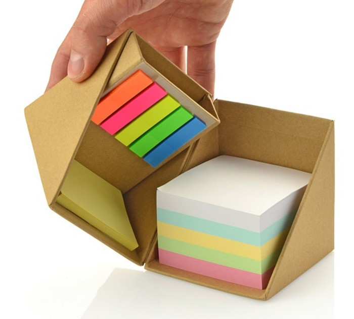 Wholesale Cube Shaped Sticky Note With Pen Holder