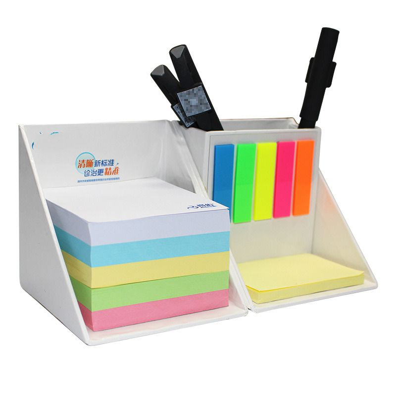 Foldable Square Cube Memo, High Quality Sticky Note Set Box