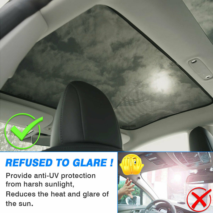Car Window Sunroof Cover Protector for Tesla Model 3