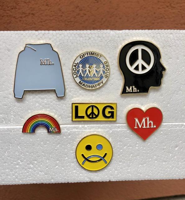 Custom Hoodies Metal Pins