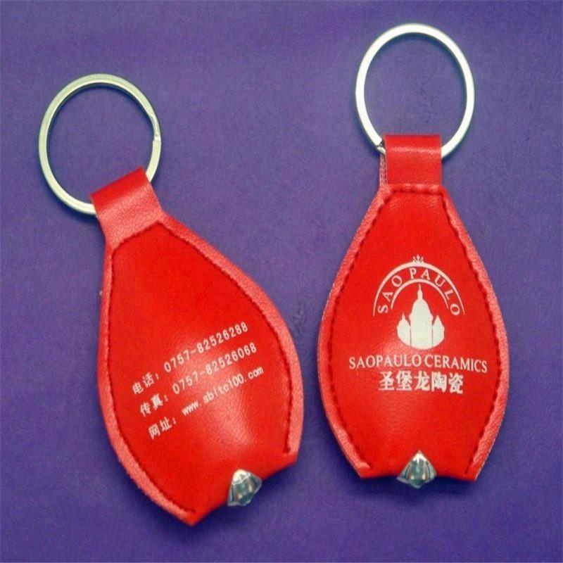 PU material led keychain ,key chain ,metal keychain