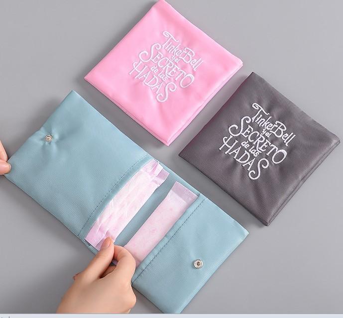 Sanitary napkin storage bag