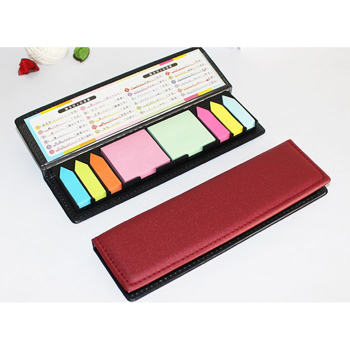 Note pad holder Calendar with PU leather cover