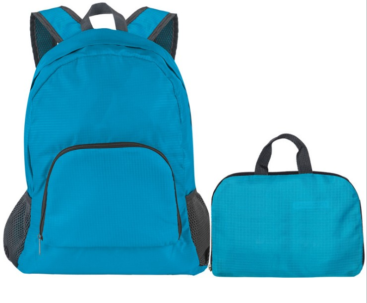 Portable folding backpack for outdoor travel