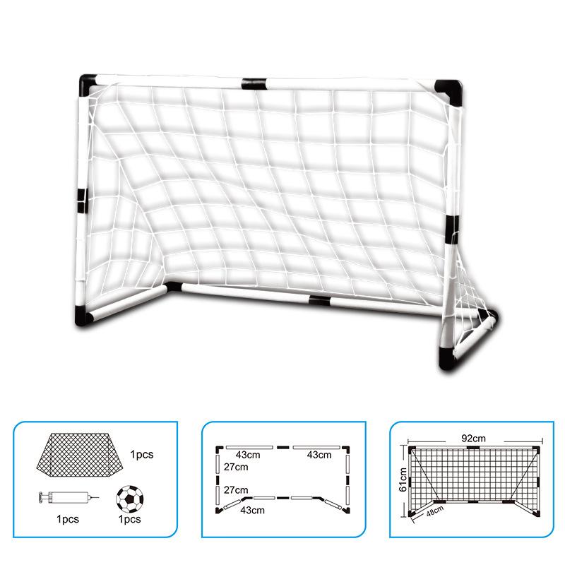 New model Children Sports Toys Double Football goals Soccer goals