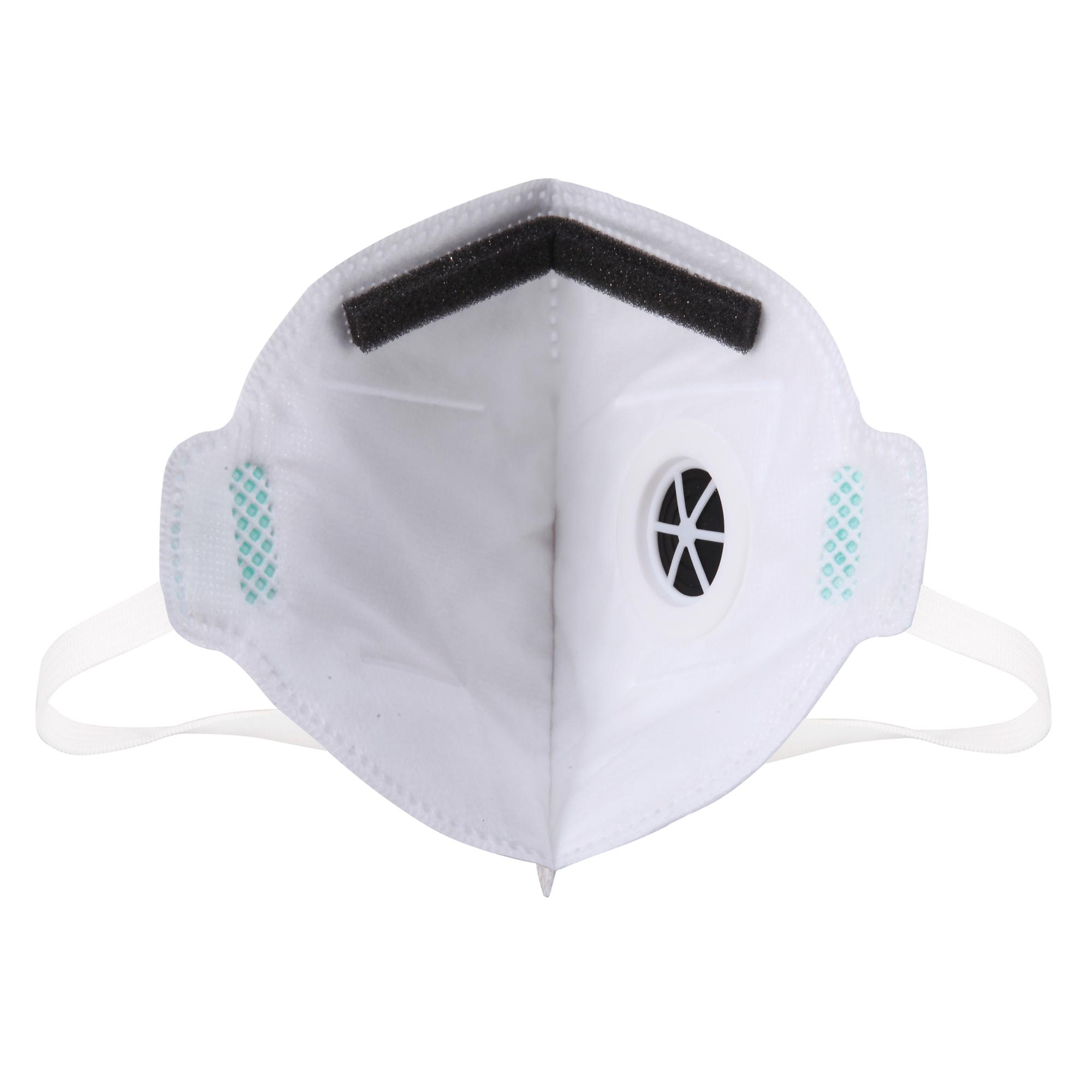 Health Care Disposable Valve NIOSH N95 Flat Fold Dust Mask