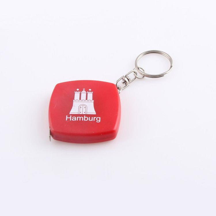 Custom Wholesale Plastic CM Inch Mini Tape Measure with Logo
