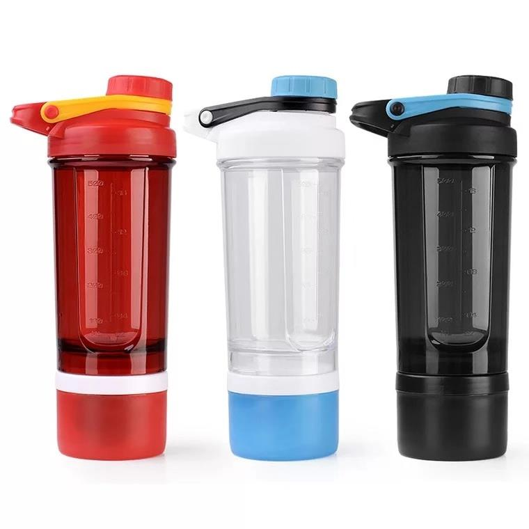 Protein powder shake cup plastic exercise kettle shake shake cup