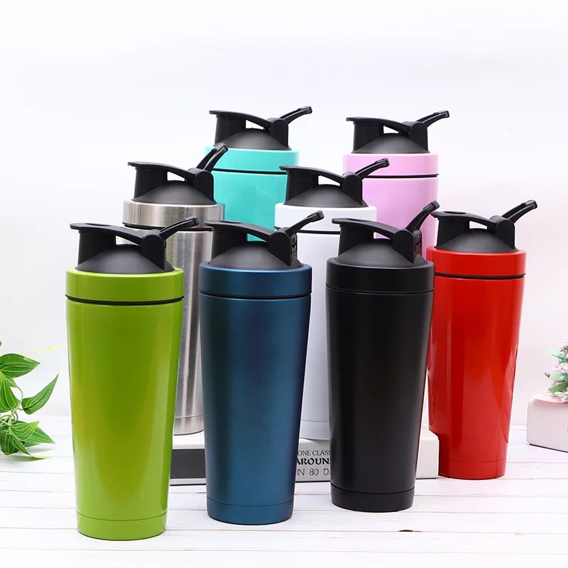 BPA free bodybuilding stainless steel protein shaker bottle