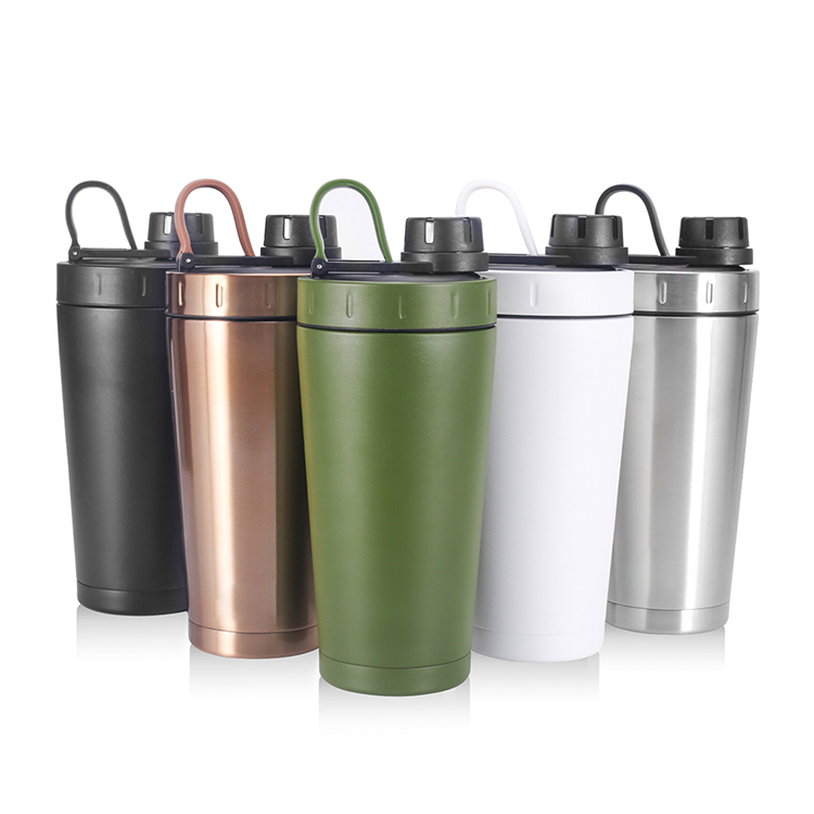 Double Wall Traveling Stainless Steel Vacuum Sport Water Bottle Shaker