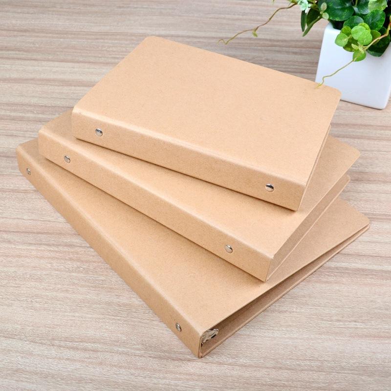 Durable custom design kraft paper hardcove lever arch file folder