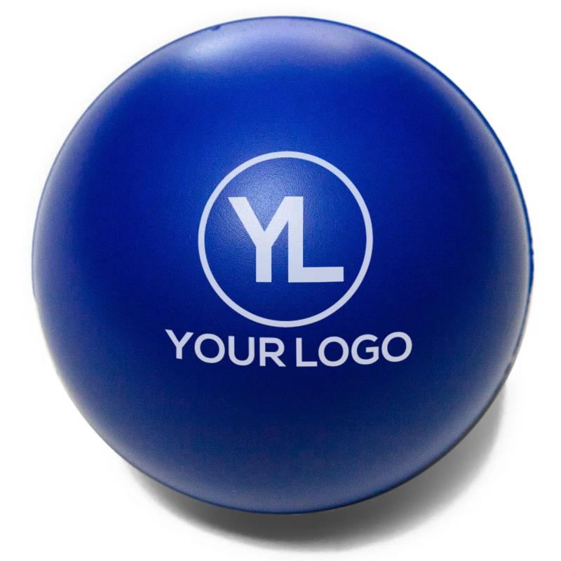 Promotional Anti Stress Ball Round Shaped PU Stress Ball Toy