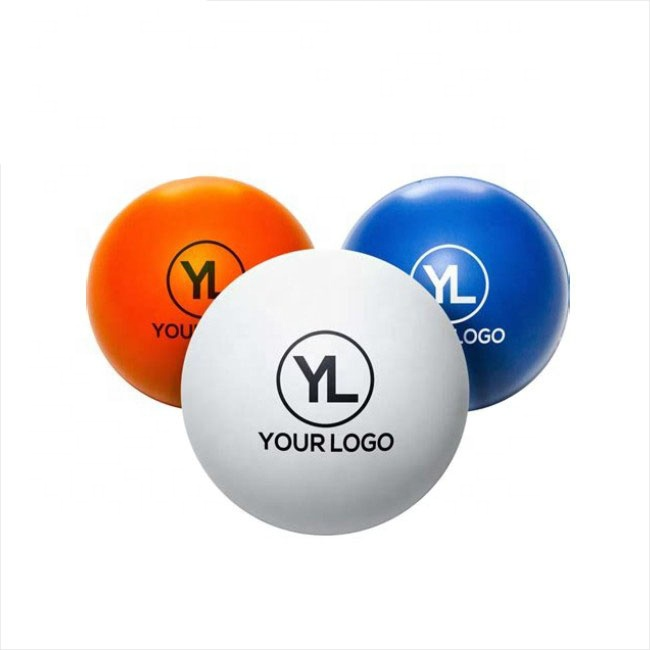 custom pu foam stress ball with logo printing