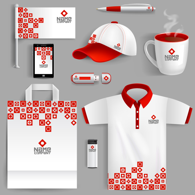 Custom Promotional items sets with logo