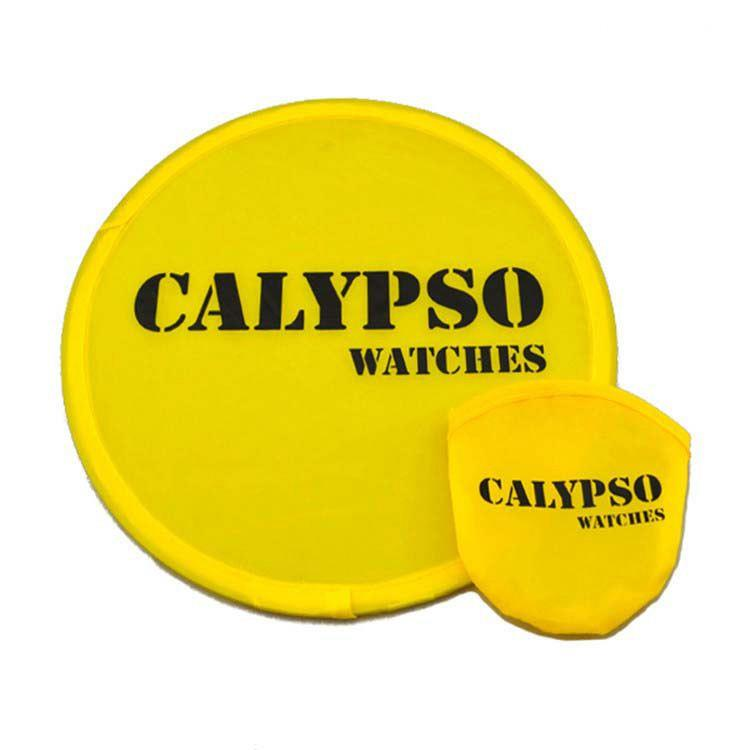 New Design Custom Customized Foldable Flying Disc Fan With A Pouch