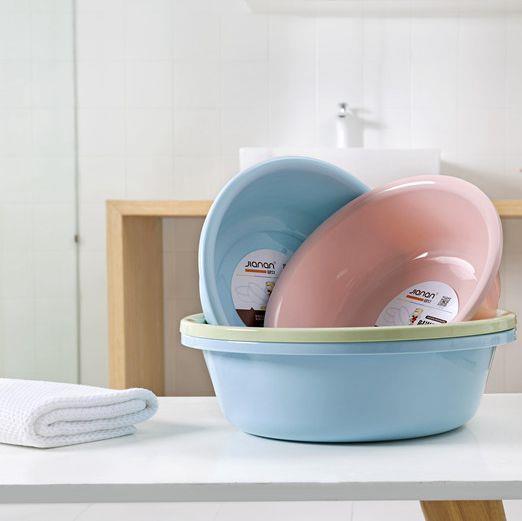 28cm-40cm cheap round plastic wash basins for bathroom kitchen