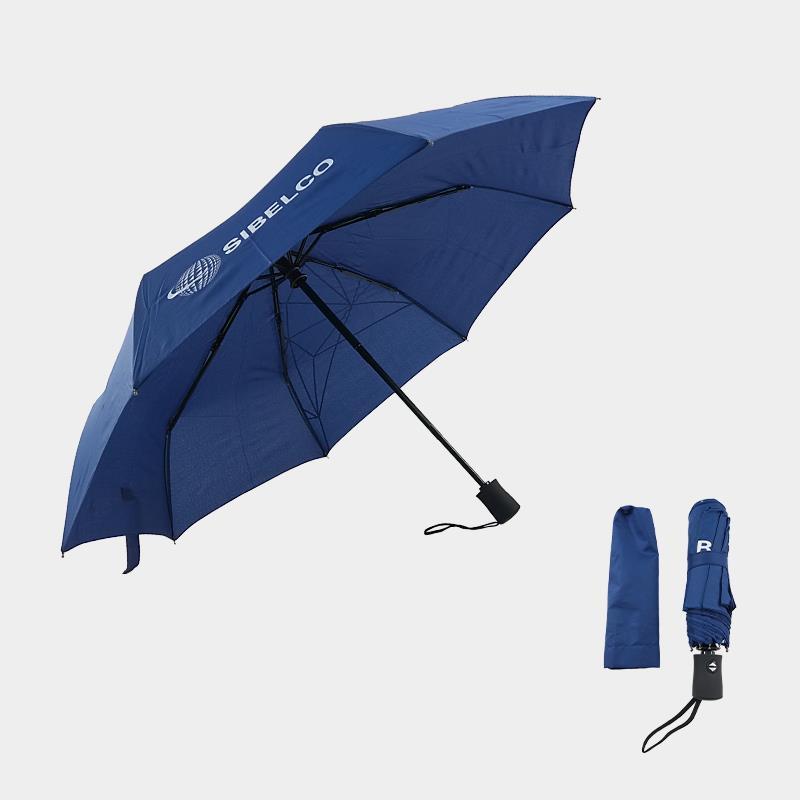 automatic three fold umbrella with custom logo