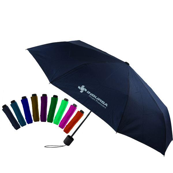 high quality 21 inch manual open custom fold umbrella