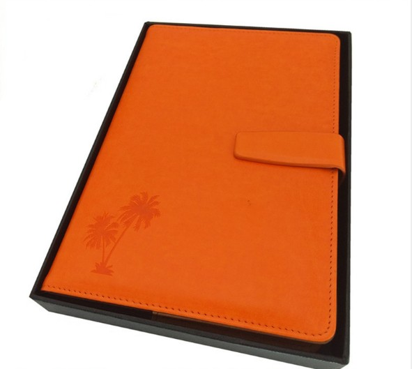 Buckle PU leather Notebook