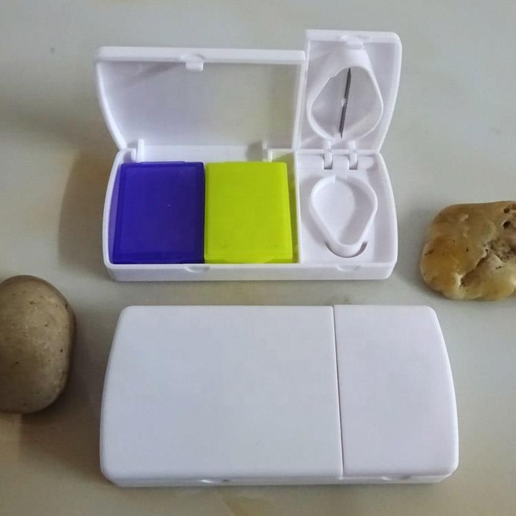 Mini medicine storage box fancy pill box container pill case