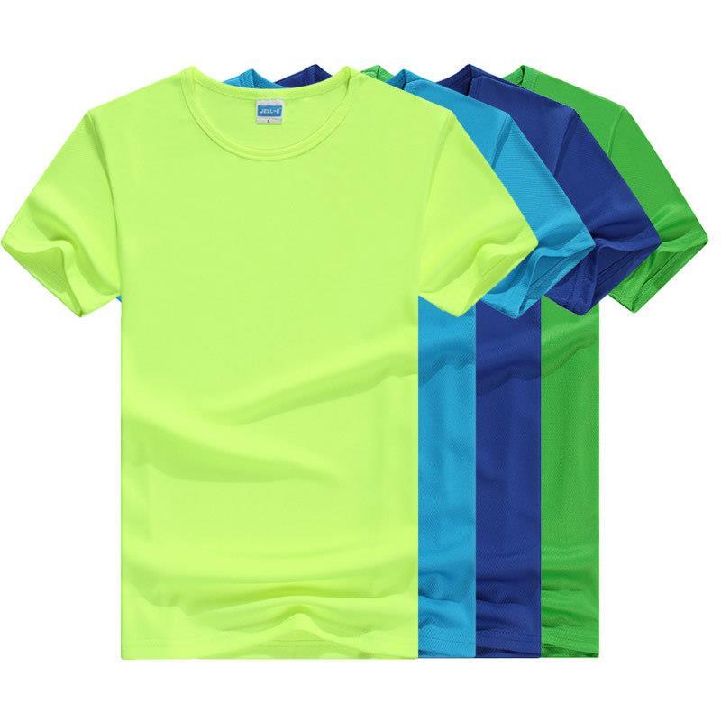 wholesales round neck marathon oem logo quick dry fit wicking cooling sports custom made running t shirt