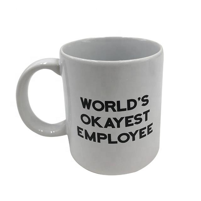 Advertising Logo Printed Ceramic Coffee Mug