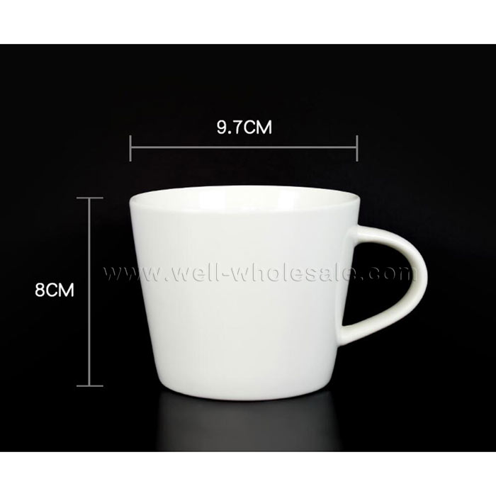 360ML conical ceramic cup