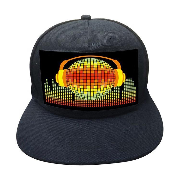 2020 New Design 5 Panel Baseball Box Cap Sports Caps Flex Fit