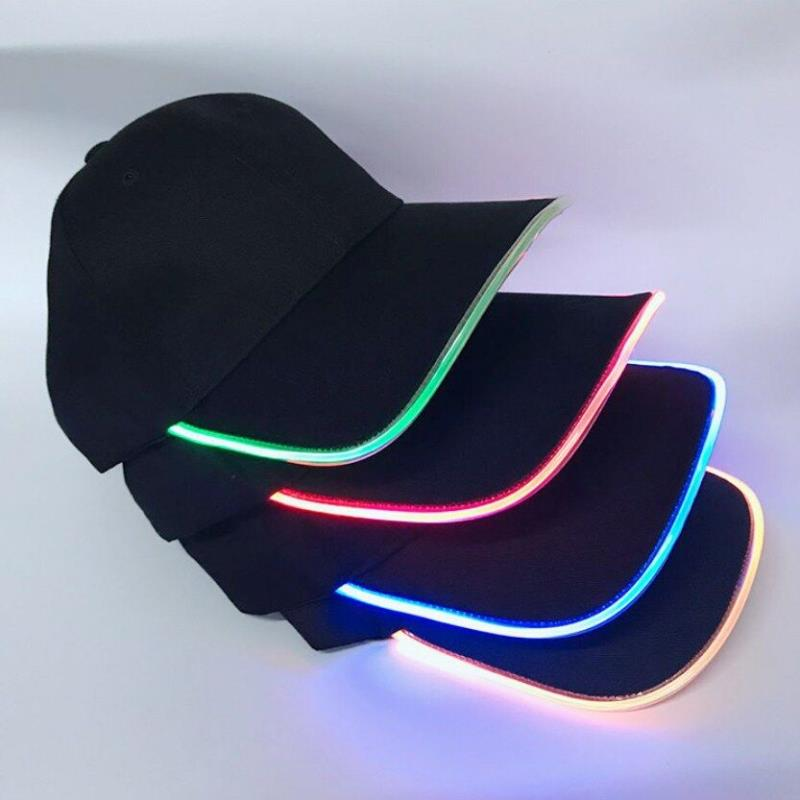Promotion LED hat,new fashion Led flashing hat for party,Logo customized led hats China factory